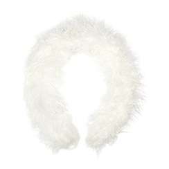 Floozie by Frost French - White faux fur scarf