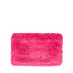 Floozie by Frost French - Pink faux fur hand warmer