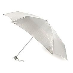 Totes - Silver glossy umbrella