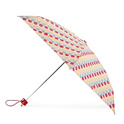 Totes - White large polka dot umbrella