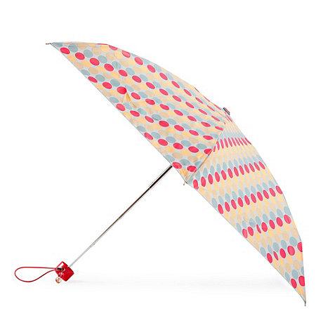 Totes - White large polka dot umbrella