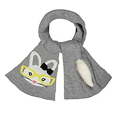 H! by Henry Holland - Designer grey bunny scarf