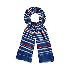 Bailey & Quinn - Navy nautical striped scarf