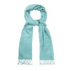 Bailey & Quinn - Aqua cashmere blend scarf
