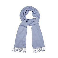 Bailey & Quinn - Pale blue cashmere blend pashmina