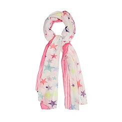 H! by Henry Holland - Designer pink neon star scarf