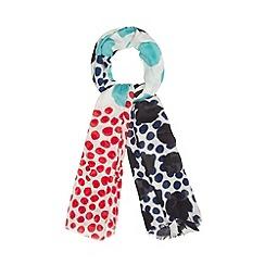 Principles by Ben de Lisi - Designer cream spotted scarf