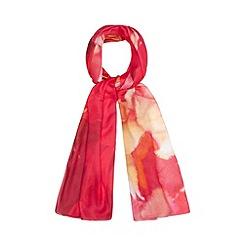 J by Jasper Conran - Designer pink floral scarf
