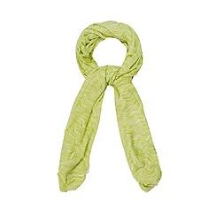 J by Jasper Conran - Designer lime chevron scarf