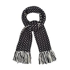 Iris & Edie - Navy sparkle scarf