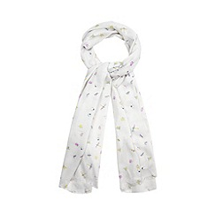 Floozie by Frost French - Grey 'love bug' print scarf