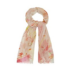 Floozie by Frost French - Pale yellow toadstool print scarf