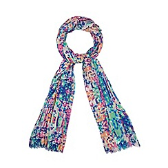 Star by Julien MacDonald - Designer multicoloured pixelated scarf