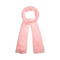 RJR.John Rocha - Designer neon pink spotted scarf
