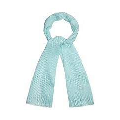 RJR.John Rocha - Designer light green spotted scarf