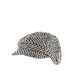RJR.John Rocha - Designer grey wool blend chunky knit cap