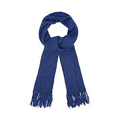 RJR.John Rocha - Designer blue mohair blend scarf