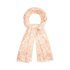 RJR.John Rocha - Designer peach mini blossom print scarf