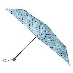 Totes - Blue dot mini umbrella