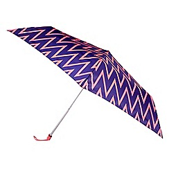 Totes - Zig zag mini umbrella