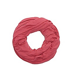 Red Herring - Pink jersey snood