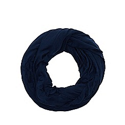 Red Herring - Navy jersey snood