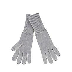 Red Herring - Grey herringbone gloves