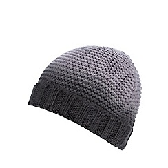 Red Herring - Grey ombre-effect beanie hat