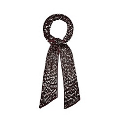 Nine by Savannah Miller - Dark red Amanda scarf
