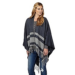 Nine by Savannah Miller - Navy blue 'Moon' striped wrap