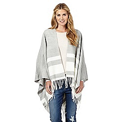 Nine by Savannah Miller - Grey 'Moon' striped wrap