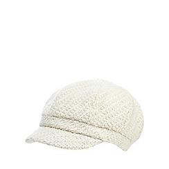 RJR.John Rocha - Cream chunky woven cap