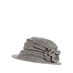 RJR.John Rocha - Grey cloche hat