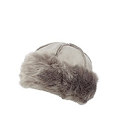 RJR.John Rocha - Grey faux sheepskin cossack hat