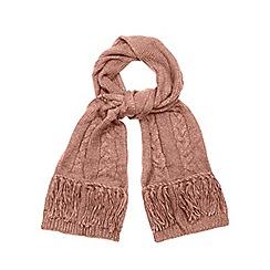 RJR.John Rocha - Pink fringed scarf