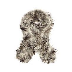 RJR.John Rocha - Natural faux fur scarf