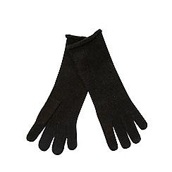 RJR.John Rocha - Grey studded gloves