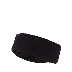 Mantaray - Black fleece headband