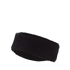 Mantaray - Black fleece headband