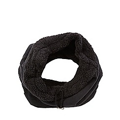 Mantaray - Black fleece lined snood