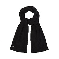 Mantaray - Black fleece scarf