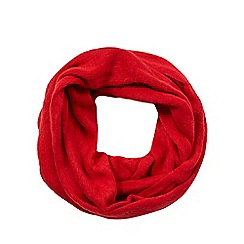 The Collection - Red fluffy snood
