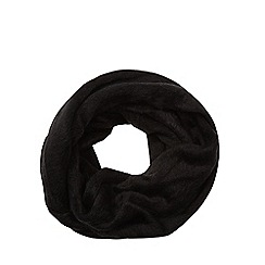 The Collection - Black fluffy snood