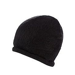The Collection - Black fluffy hat