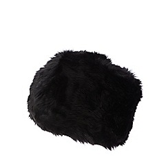 J by Jasper Conran - Black faux fur cossack