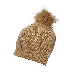 J by Jasper Conran - Camel beanie hat