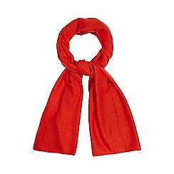 J by Jasper Conran - Red cashmere scarf