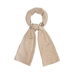 J by Jasper Conran - Camel cashmere scarf