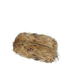 J by Jasper Conran - Natural faux fur headband