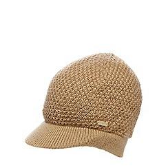 J by Jasper Conran - Camel chunky knit cap